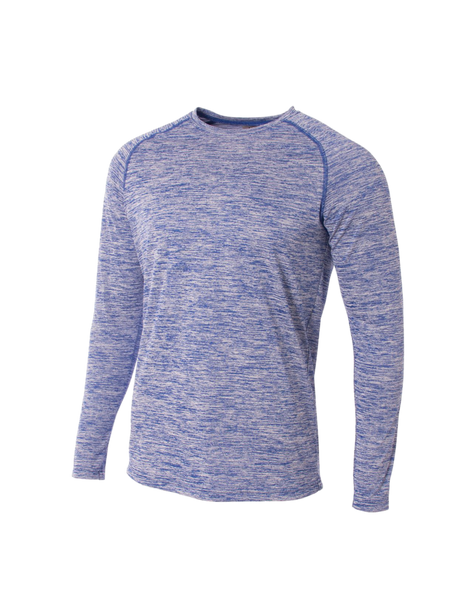 Long Sleeve Raglan Space Dye