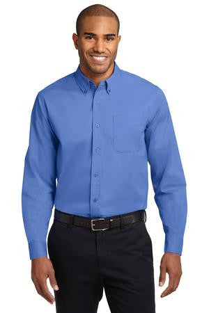 Long Sleeve Easy Care Shirt (XXL-6XL) Solid Colors