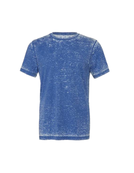Acid Wash Poly-Cotton Short Sleeve Tee
