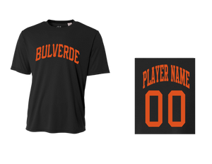 BLL Giant Men's Performance Crew Tee w/ Player Name & Number