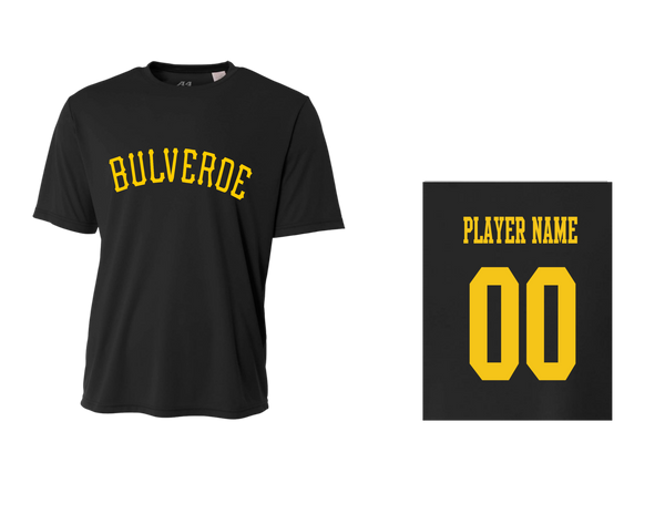 BLL Pirates Men's Performance Crew Tee w/ Player Name & Number