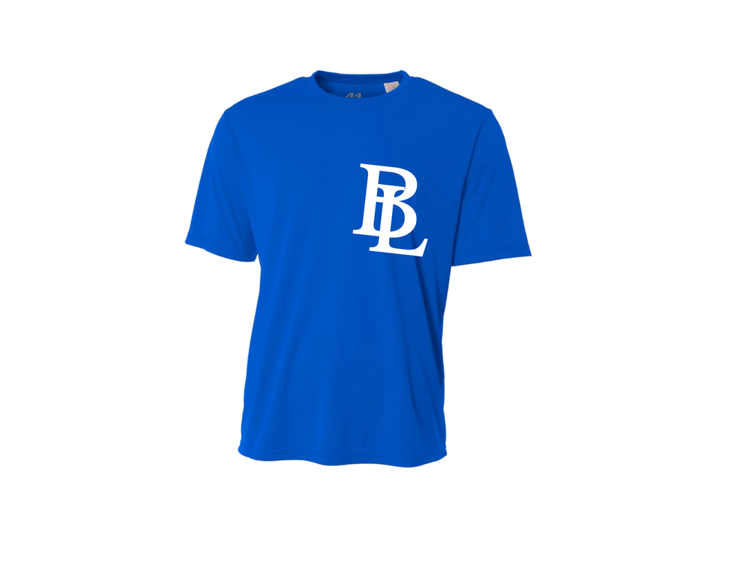 BLL Royal Men's Performance Crew Tee