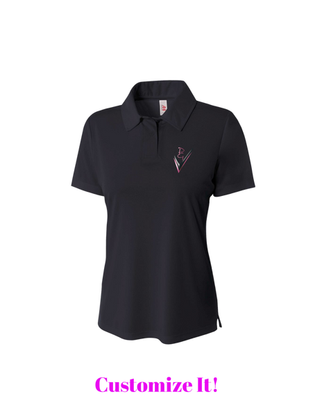 Women's Solid Interlock Performance Polo