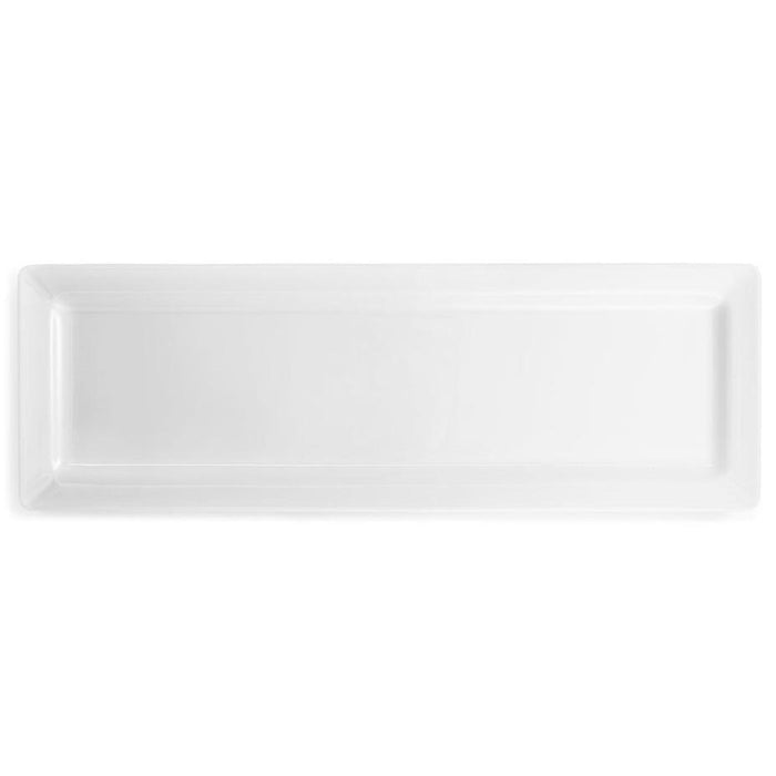 Large White Rectangular Melamine Sandwich Platter