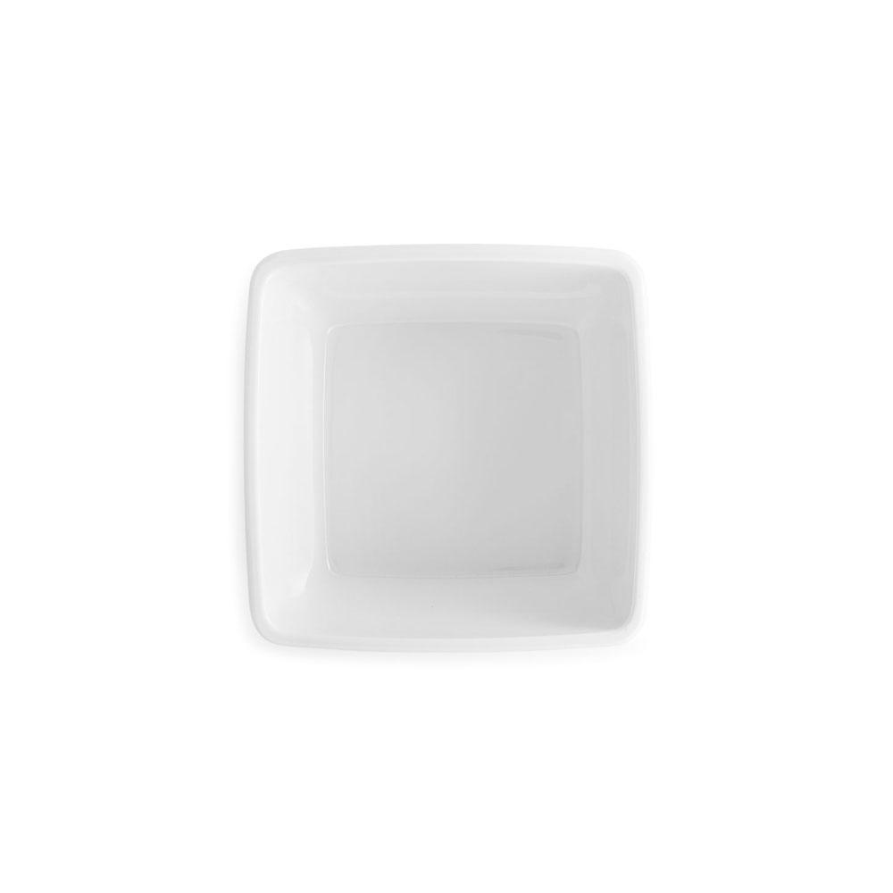 WHITE SQUARE CEREAL BOWL