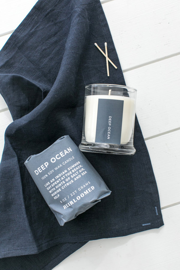 Heirloomed Collection Deep Ocean Candle