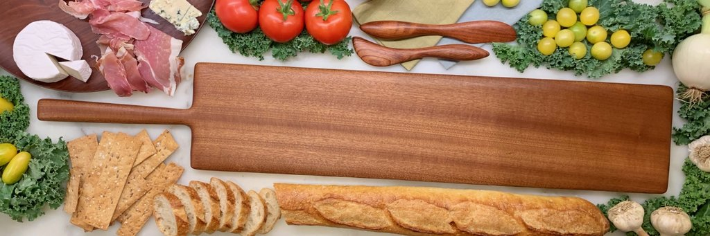 Maple Serving Board by Phil Gautreau
