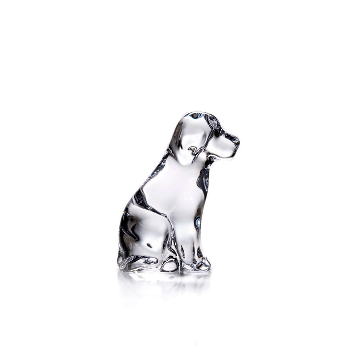 Simon Pearce Dog    Available in Clear or Frosted