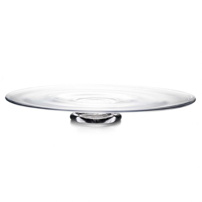 Simon Pearce  Revere  Glass Platter  - Available in 2 Sizes