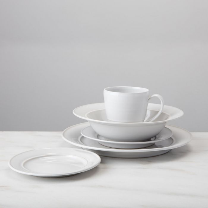Simon Pearce Cavendish Stoneware Appetizer Plate Available in 2 Colors