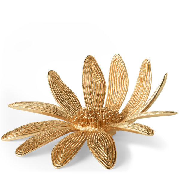 Aerin Marguerite Brass Flower