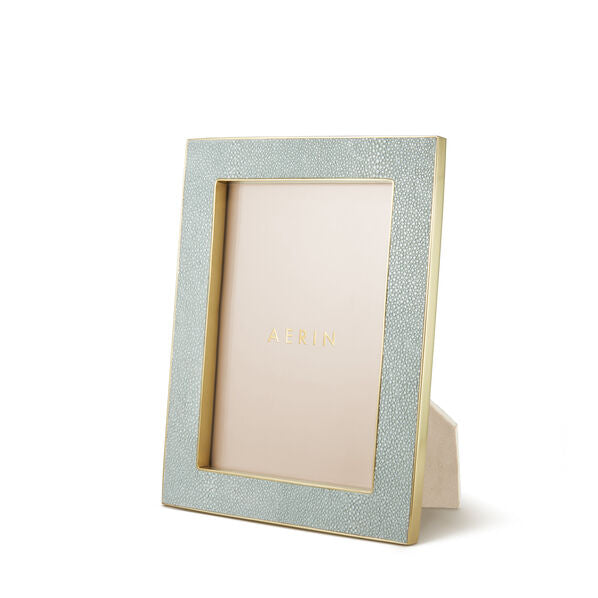 Aerin Shagreen Classic Frame   Available in 3 Sizes/ 7 Colors