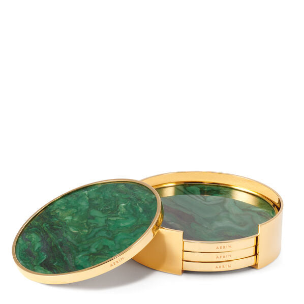 Aerin Lucas Jade Coaster / Set of 4