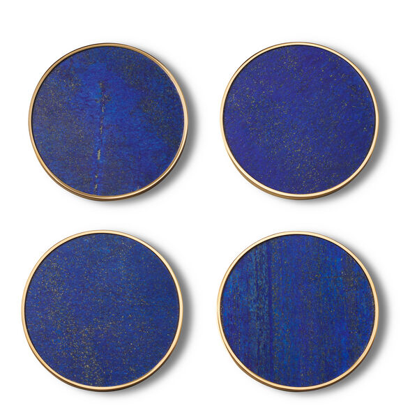 Aerin Lucas Lapis Coaster / Set of 4