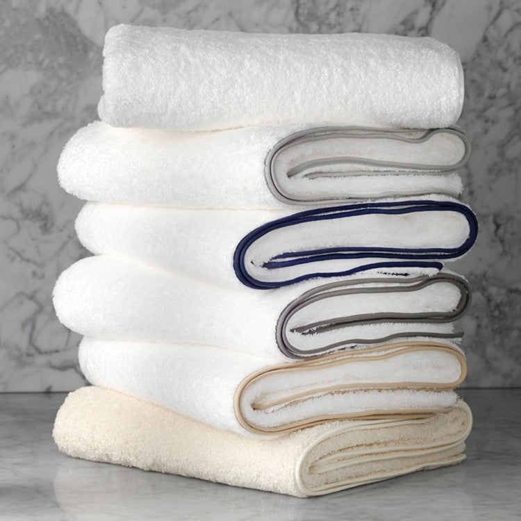 Cario Towel Collection with Straight Piping by Matouk