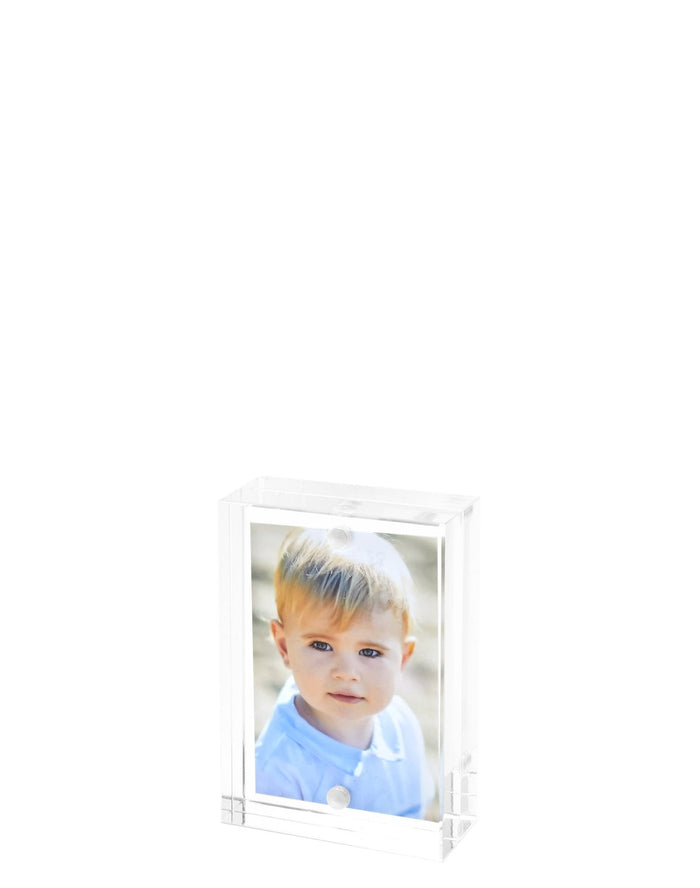 Clear Block Acrylic Frame  Available in 2 Sizes