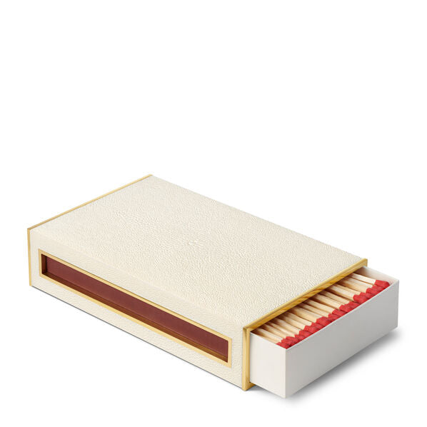 Aerin Shagreen Oversized Match Cover