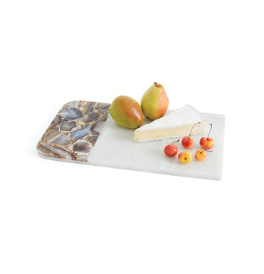 Marble and Agate Cheese Board/ Medium