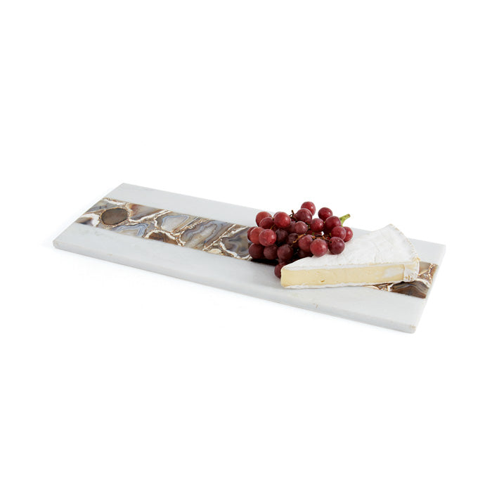 Marble and Agate Cheese Board/ Large