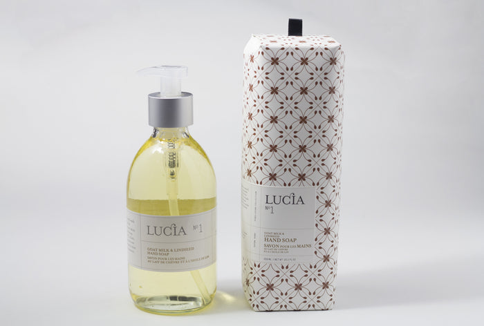 LUCIA GOAT MILK & LINSEED HAND SOAP