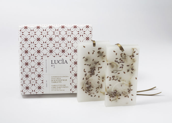 LUCIA GOAT MILK & LINSEED WAX TABLETS