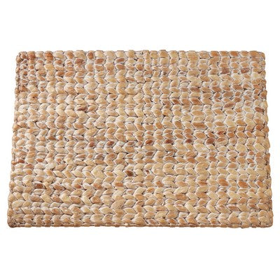 White Hyacinth Woven Placemat