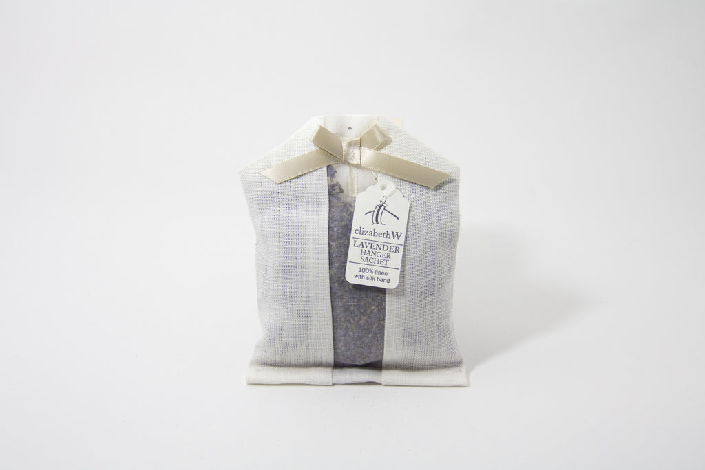 Ivory Scented Hanger Sachet by Elizabeth W