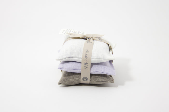Lavender 3 Piece Sachet Set by Elizabeth W