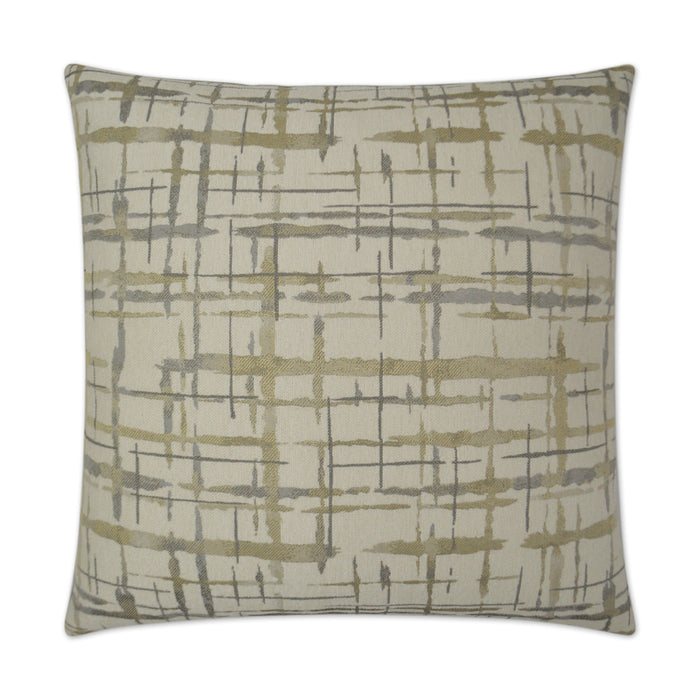 DECORATIVE PILLOW - Protraction / Pewter