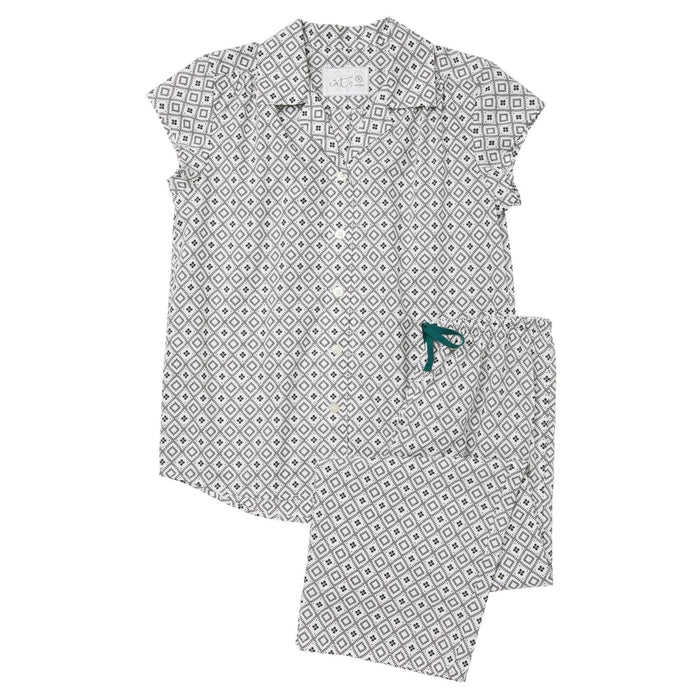 Barrington Luxe Pima Capri Pajama Set