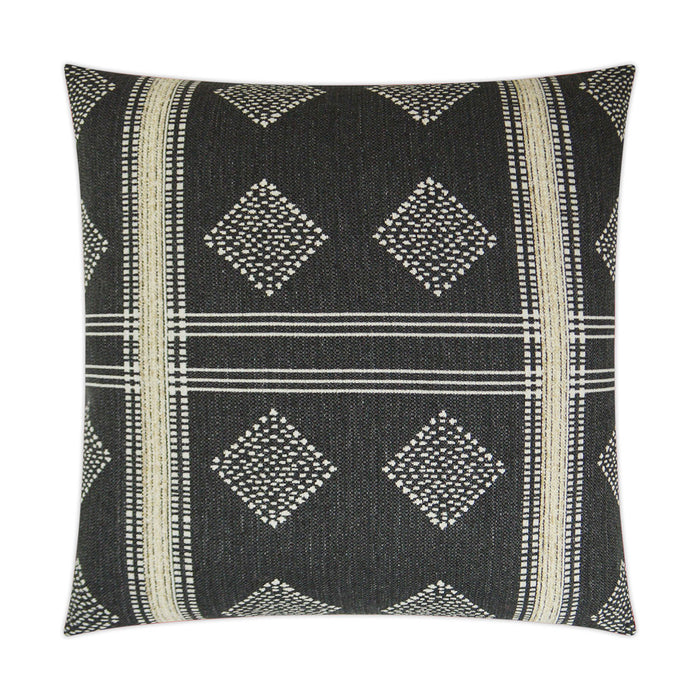 DECORATIVE PILLOW - Cultural / Graphite