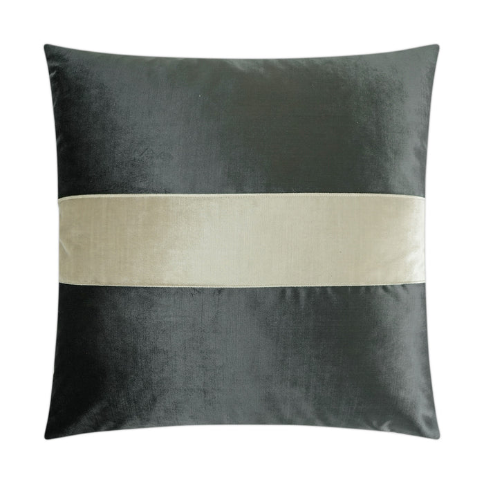 DECORATIVE PILLOW - Iridescence Band / Graphite