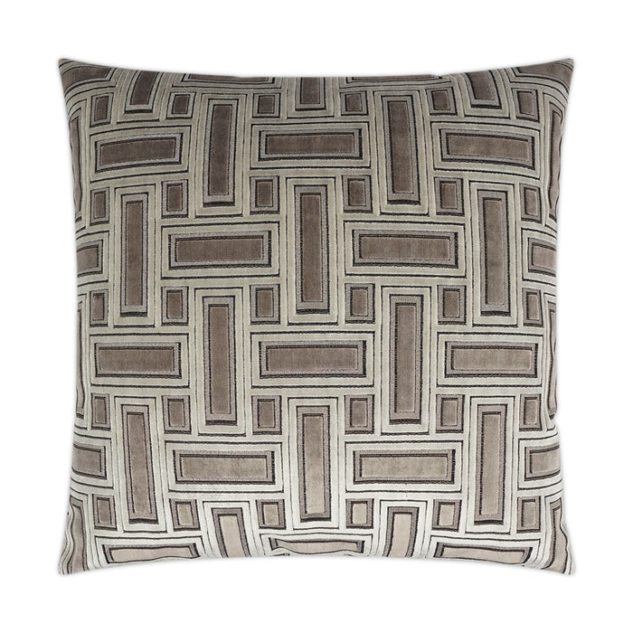 DECORATIVE PILLOW - Brix / Truffle