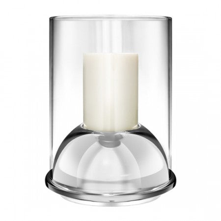 CHRISTOFLE STAINLESS HURRICANE CANDLE HOLDER