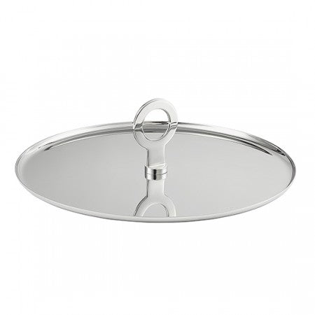 Christofle Stainless Steel OH! Appetizer Plate