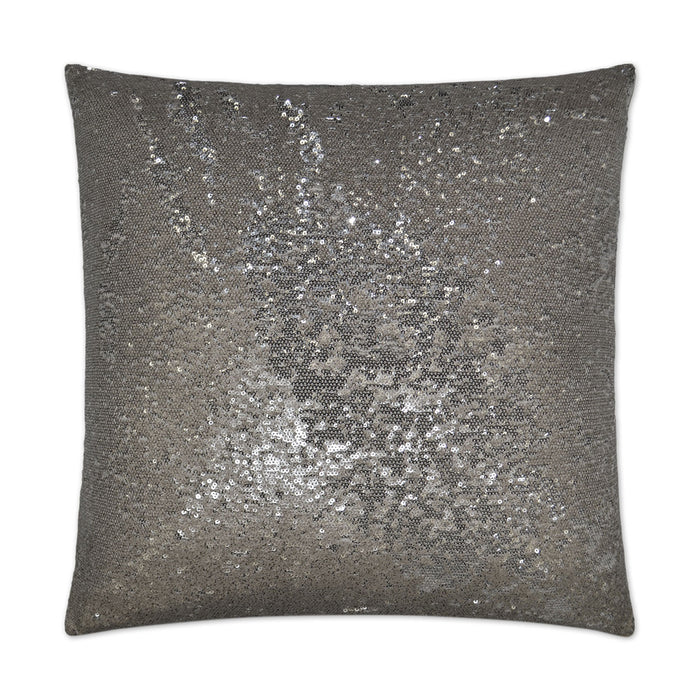 DECORATIVE PILLOW - Silver Sequin