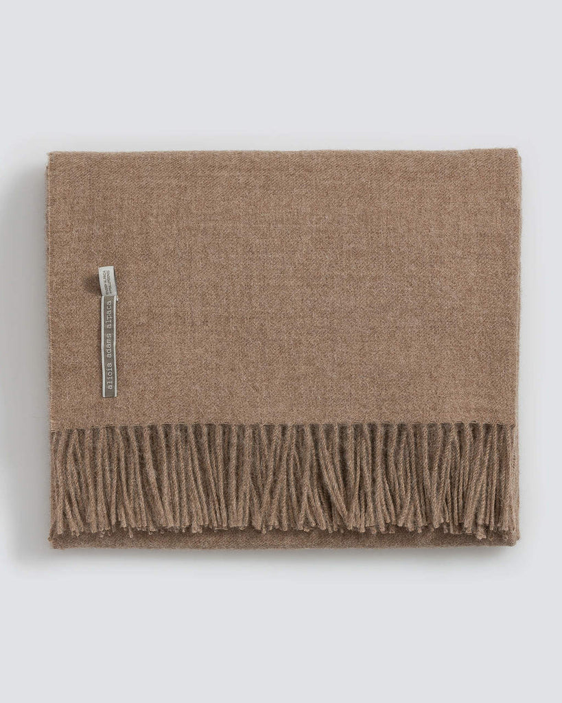 Alicia Adams Classic Solid Alpaca Throw Collection
