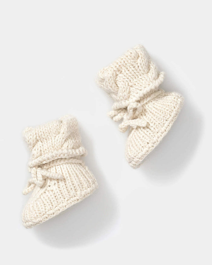 Alicia Adams Baby Booties