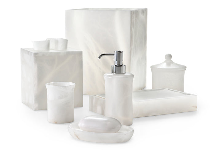 Labrazel Alisa White Bath Accessories
