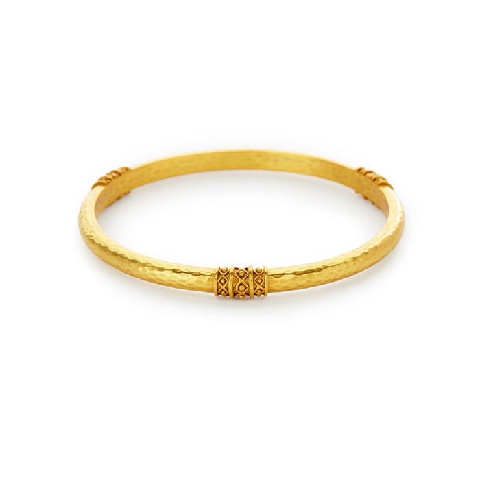 Julie Vos Catalina Gold Bangle Bracelet