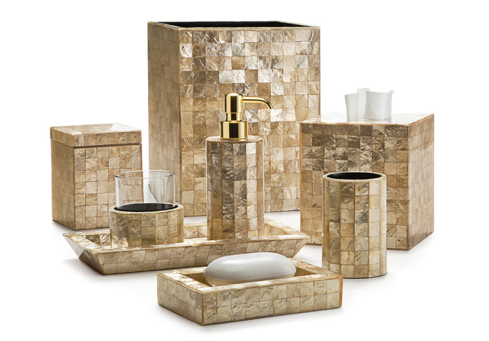 Labrazel Capiz Champagne Bath Accessories