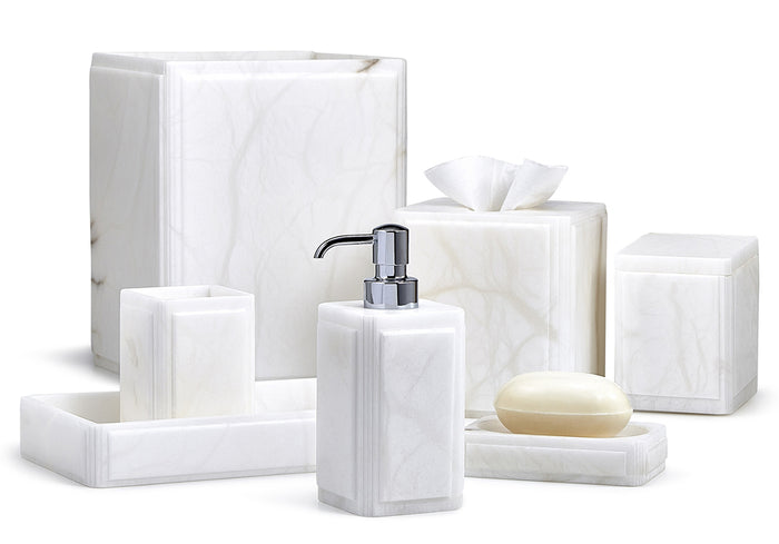 Labrazel Claudia White Bath Accessories