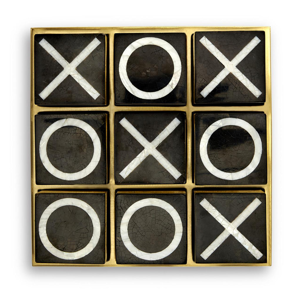 ART DECO TIC-TAC-TOE SET