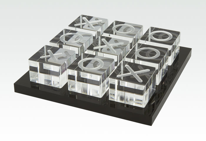 Lucite Tic Tac Toe Game