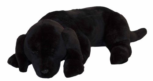 Black Labrador Plush Toy