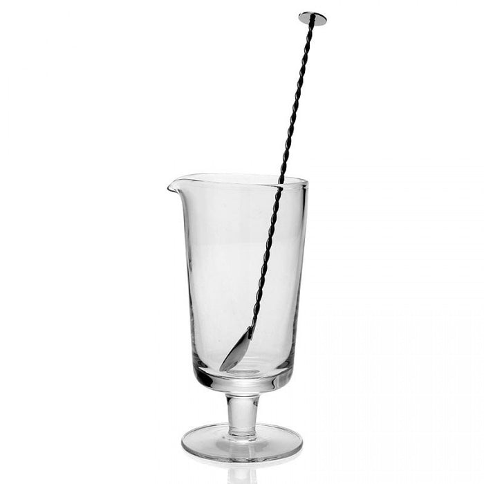 WILLIAM YEOWARD COCKTAIL MIXER AND STIRRER FOOTED LILLIAN