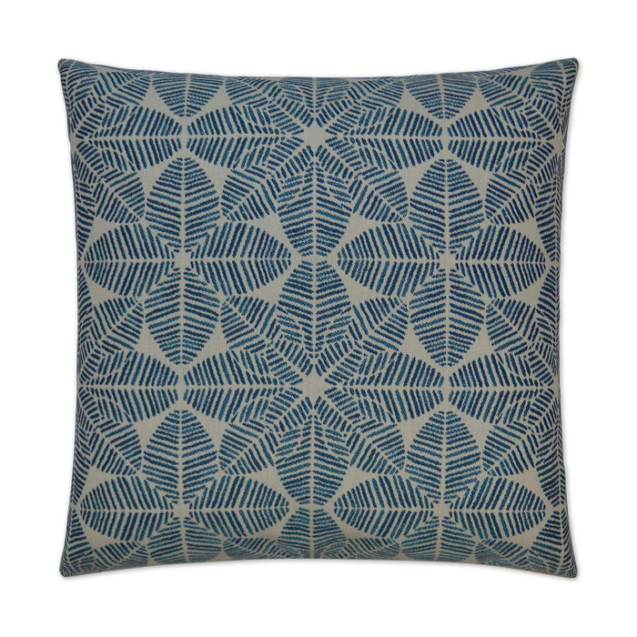 DECORATIVE PILLOW - Palmetto / Blue - Indoor/Outdoor