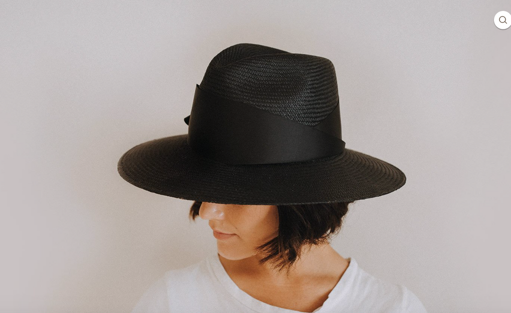 Freya Gardina  Black Straw Hat