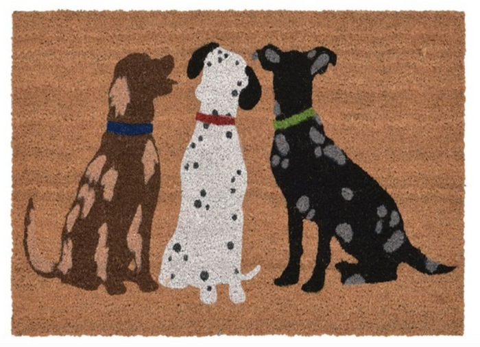 3 Dog Door Mat