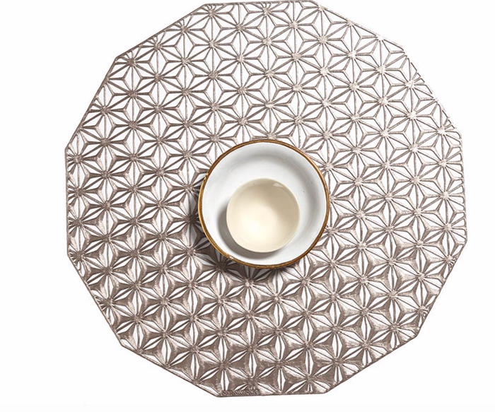 Kalidascope Round Placemat by Chiliwhich